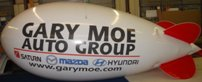 helium advertising balloon - 17ft. blimp without lettering from $951.00 17ft. helium blimp with logo or lettering from $1320.00. Custom colors available!